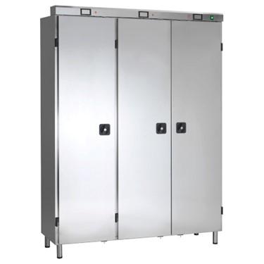 ozon garderobe 3 deurs met leg planken